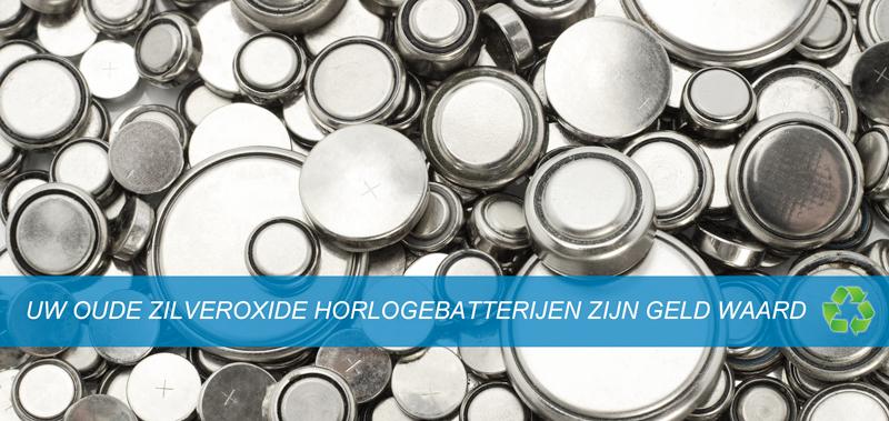 Zilver oxide batterijen